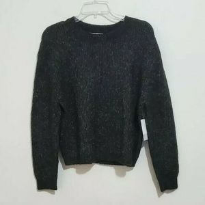 BP Long Sleeve Cropped Casual Pullover Sweater